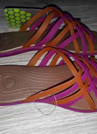 Huarache flip-flop от crocs. оригинал р 7