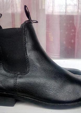 Стильные кожаные ботинки-челси george.
