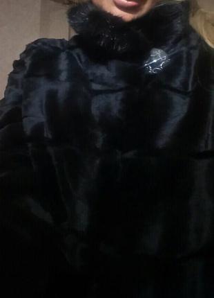 Норковая шуба saga mink