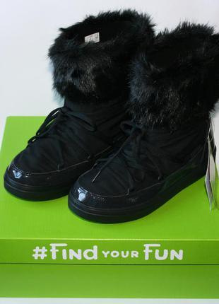 Crocs womens lodgepoint lace boot black оригинал.5
