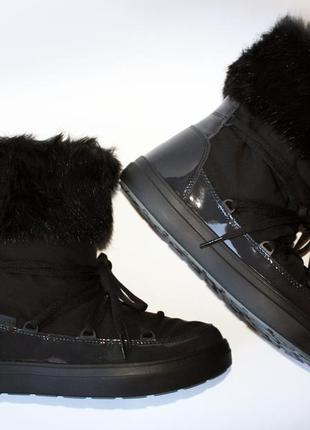 Crocs womens lodgepoint lace boot black оригинал.4