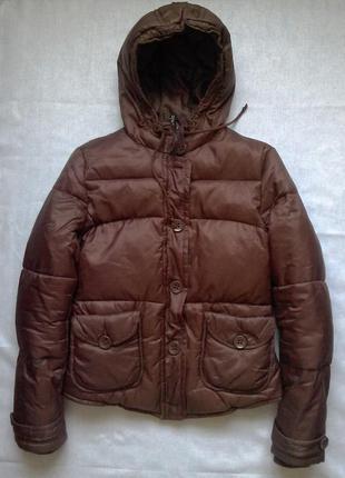Тепла пухова куртка пуховик