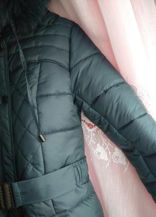 Зимняя очень теплая куртка4