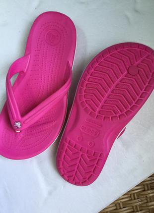 Вьетнамки  кроксы crocs 38-39 размер