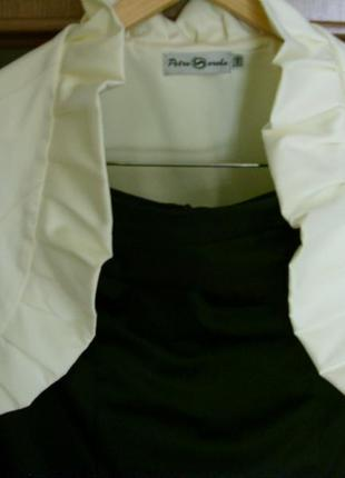 """Красивое коктейльное платье с болеро мд """"petro soroka""""2"""