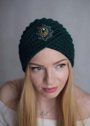 Чалма, тюрбан зелень