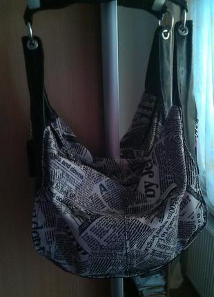 Брендовая сумка l.carvari.