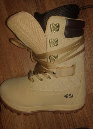 Фирменные ботинки женские сноуборд