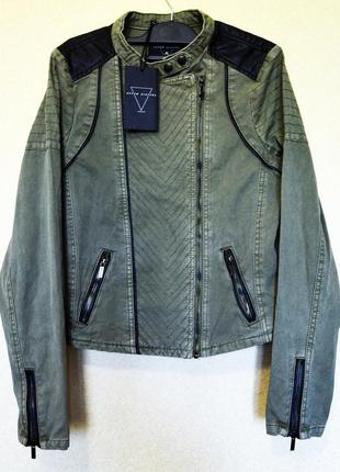 Очень крутая катоновая курточка без подкладки в стиле милитари seven sisters