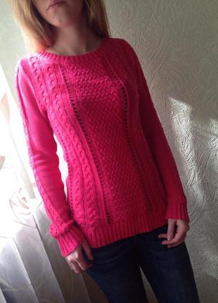 Отличный розовый свитер stradivarius