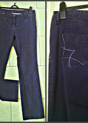 Красивые фиолетовые джинсы р.14 - недорого