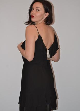 Платье с переплётом на груди4