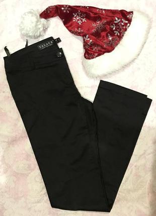 Отличные демисезонные плотные брюки, с отливом (как атласные). рр xs-s. состояние новых!