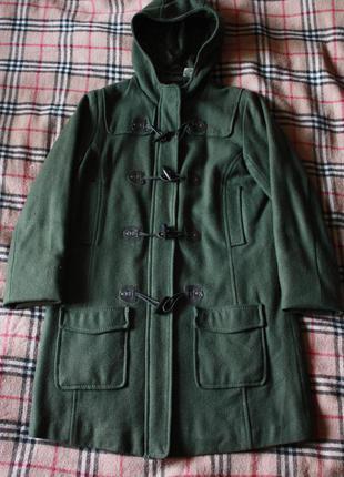 Шерстяное пальто-дафлкот le redoute