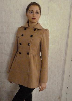 Пальто на весну от f&f размер с 8 36 38