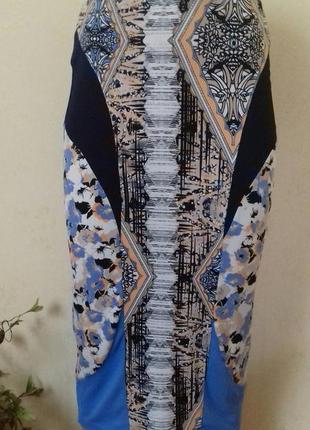 Красивая юбка-карандаш с принтом river island