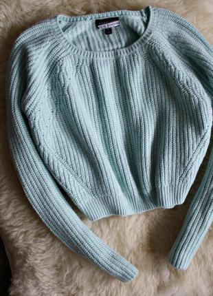 Укороченный свитер topshop