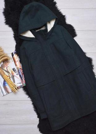 Зимнее пальто-дафлкот topshop1