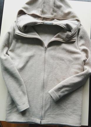 Стильное пальто/кардиган с капюшоном актуального цвета marks&spencer