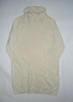 -50%  на 2-ю вещь!!!  вязаное платье / туника р.l3