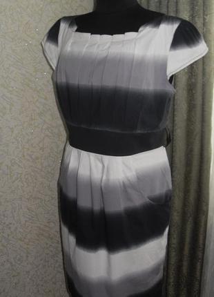 Ценопад !!!! платье  хлопок на подкладе с карманами градиент  et vous