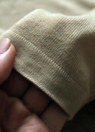 Трендовый гольф кофточка свитер джемпер бежевого цвета marks & spencer, xl, xxl2