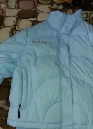 Пуховик  куртка columbia