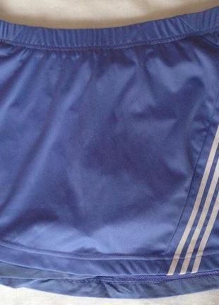 Теннисная юбка с шортиками adidas