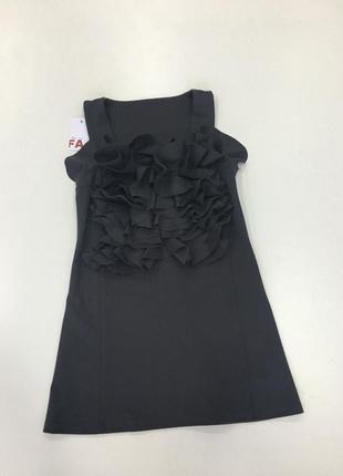 Туника-платье tago с рюшами