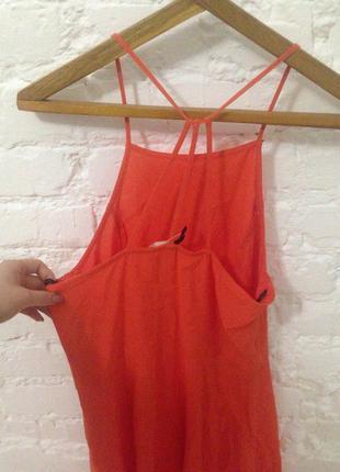 Красное платье h&m