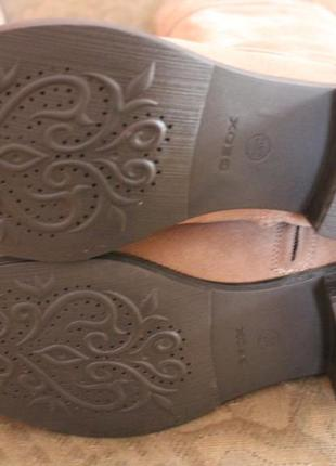 Демісезонні чоботи geox5