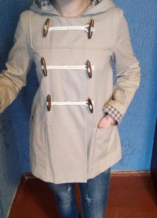 Новое брендовое пальто плащ дафлкот от topshop