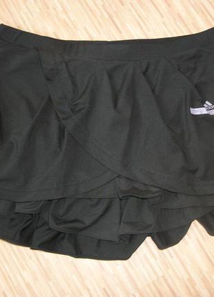 Юбка спортивная черная