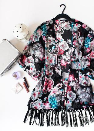 Шифоновая  блуза, накидка бохо-кимоно george большого размера!!!1