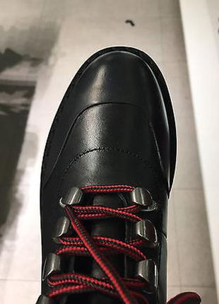 Кожанные  ботинки zara5