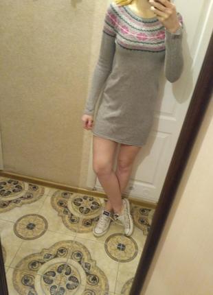 Платье тёплое ангора4