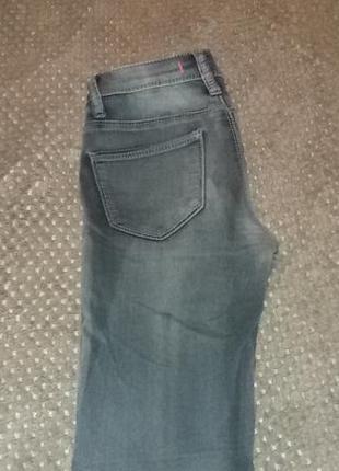 Серые джинсы скинни от tally weijl