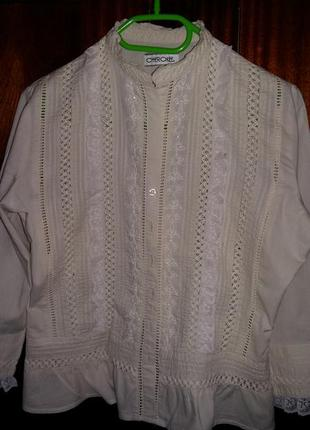 Романтична вінтажна блуза