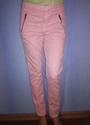 Брючки персикового цвета topshop морокко3