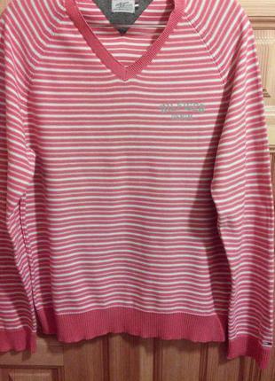 Tommy hilfiger, свитер/ пуловер/ джемпер, оригинал, 100% коттон, р. l.