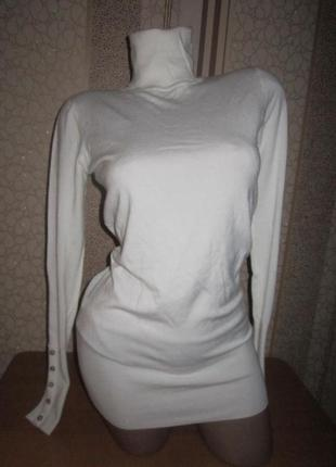 Белая брендовая туника 46 м размера1
