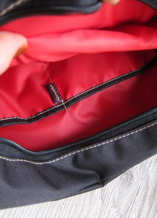 Черный рюкзак с отделением для планшета или ноутбука5