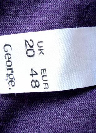 Распродажа легкий летний трикотажный реглан кофта george uk20 большой размер состояние нового2