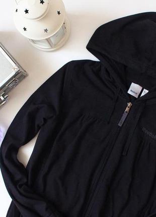Теплый флисовый джемпер с капюшоном  reebok3