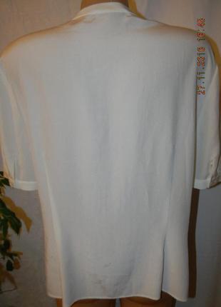 Натуральная шелковая блуза jager2