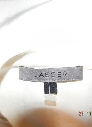 Натуральная шелковая блуза jager3