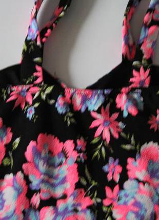 Цветное платье4
