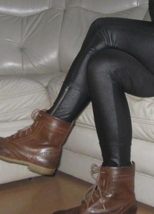 Ботинки кожзам