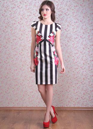Стильное летнее  платье картье