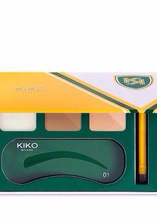 Набор для бровей hi - brow expert eyebrow kit kiko